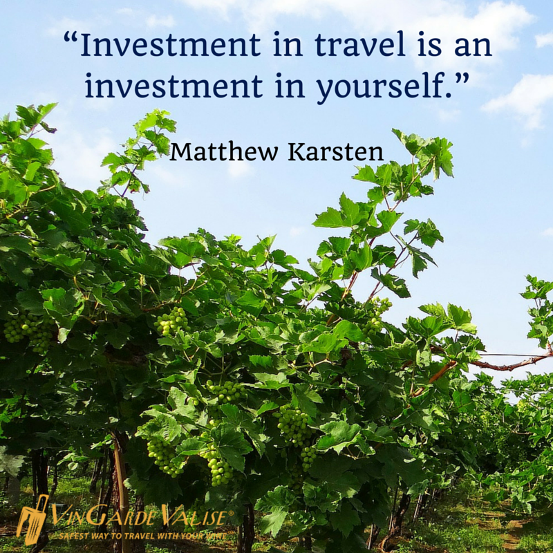 """""""Investment in travel is an investment in yourself."""" - Matthew Karsten"""