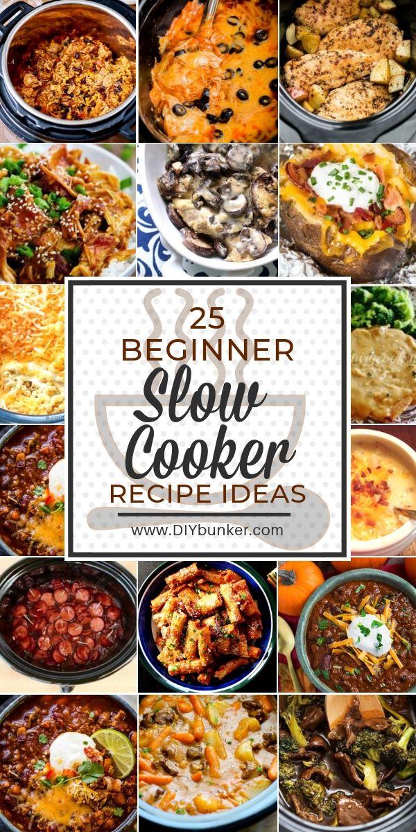 25 Slow Cooker Recipes #ricecookermeals