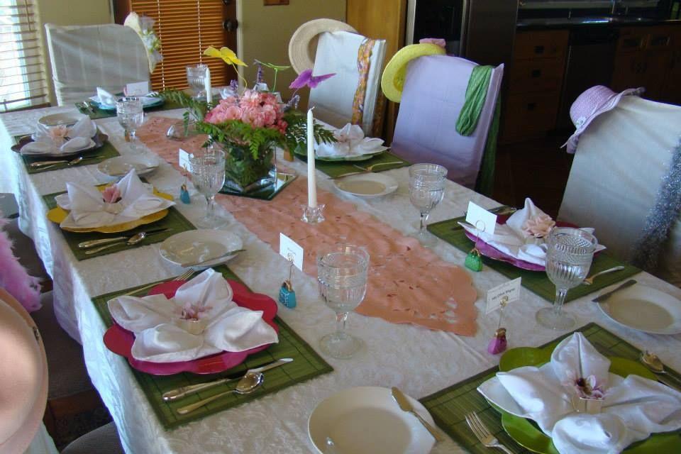 Girl scout etiquette table decorations decor