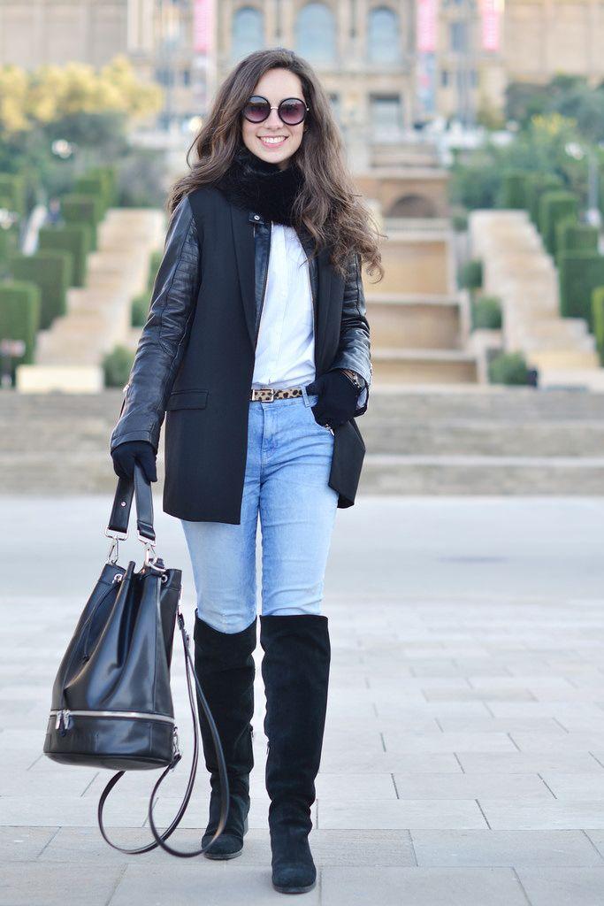 Combinar unas botas de lluvia negras (40 looks) | Outfits