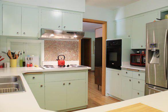 Retro Ranch Revamp Resolutions 2013 Mid Century Kitchen Kitchen