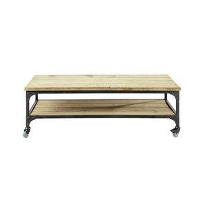 Tables Basses Table Basse Industrielle Table Basse Et Table Basse Avec Roues