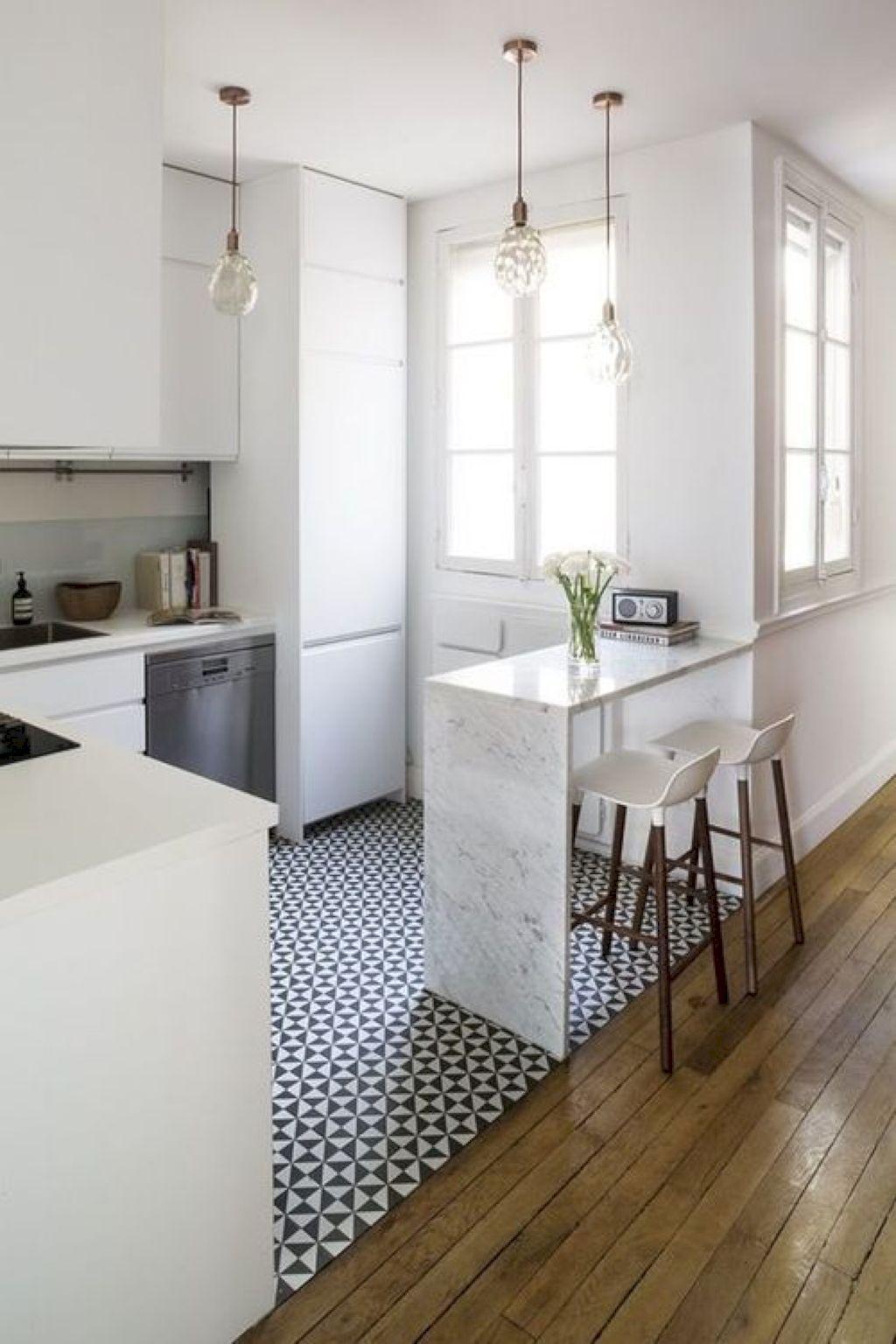 42 Smart Apartment Kitchen Remodel Ideas | Apartment kitchen ...