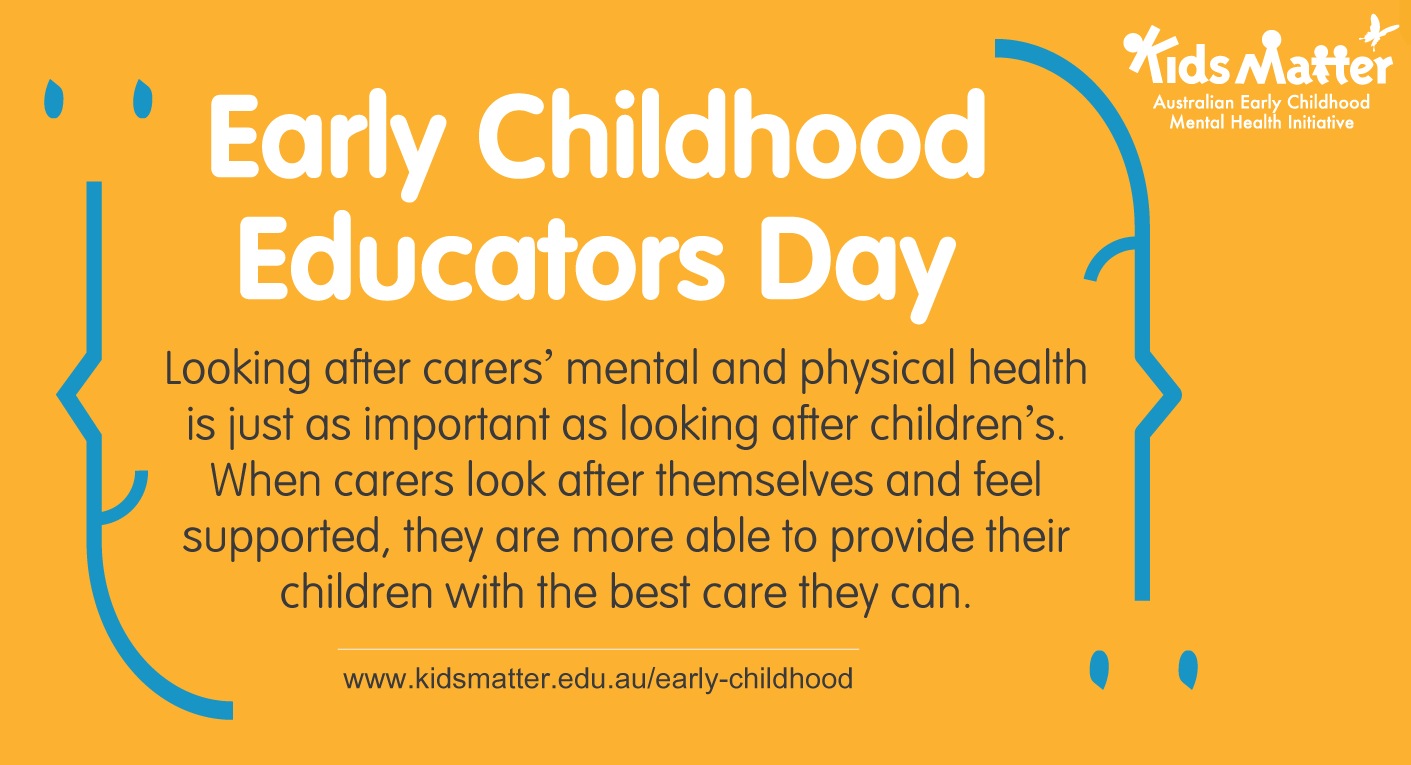 Early childhood educators day
