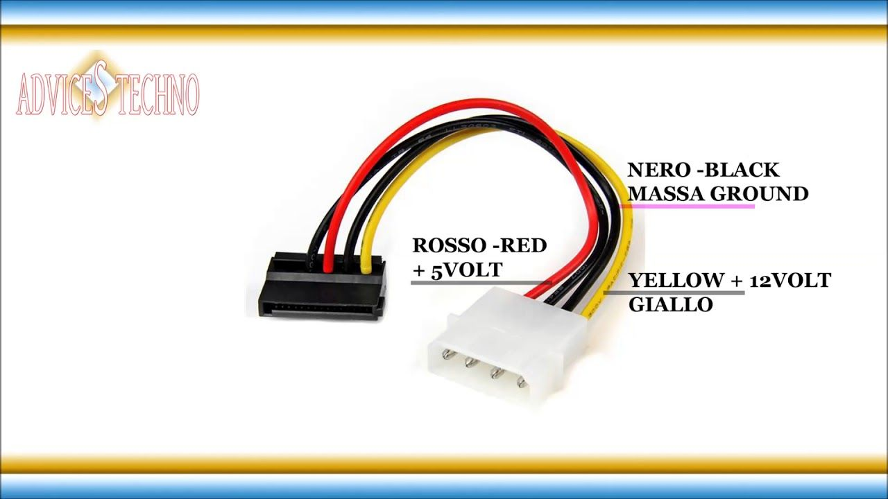 Sata Cable Wiring Diagram | Wiring Diagram on