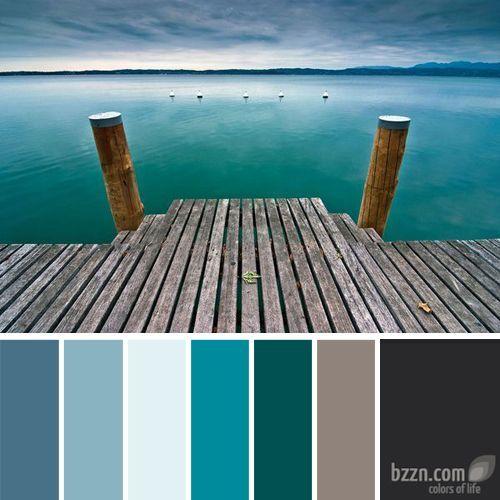azul/verde | Paletas de Azules para tus Páginas de Scrapbook ...