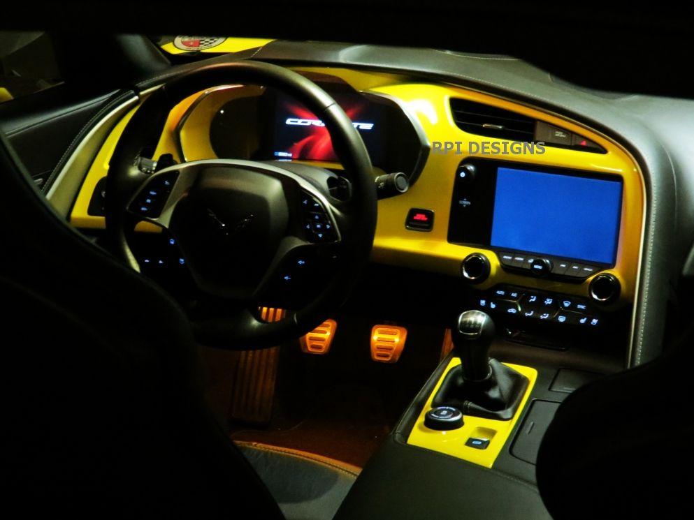C7 Corvette Painted Dash Cluster Any C7 Color Corvette Stingray Corvette Chevrolet Trax