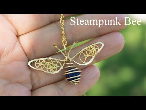 Photo of Wire Wrap Tutorial, Steampunk Bee,