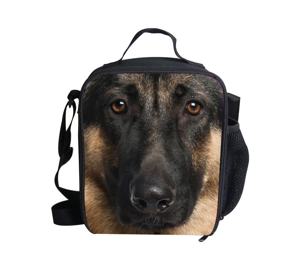 1391e31146b5 German shepherd Outdoor Cooler Thermal Waterproof Lunch Bag Tote Box ...