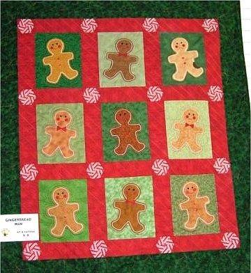 http://media-cache-ak0.pinimg.com/736x/40/87/31 ... : gingerbread man quilt - Adamdwight.com