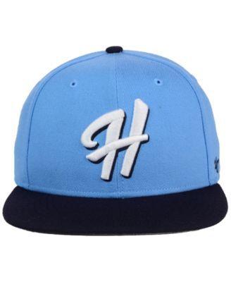 '47 Brand Hillsboro Hops Shot Snapback Cap - Blue Adjustable