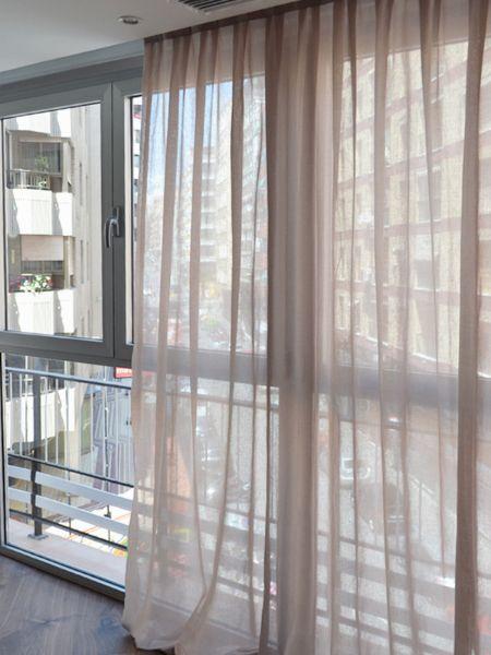 cortinas lino corti de cortinadecor en madrid - Cortinas Lino