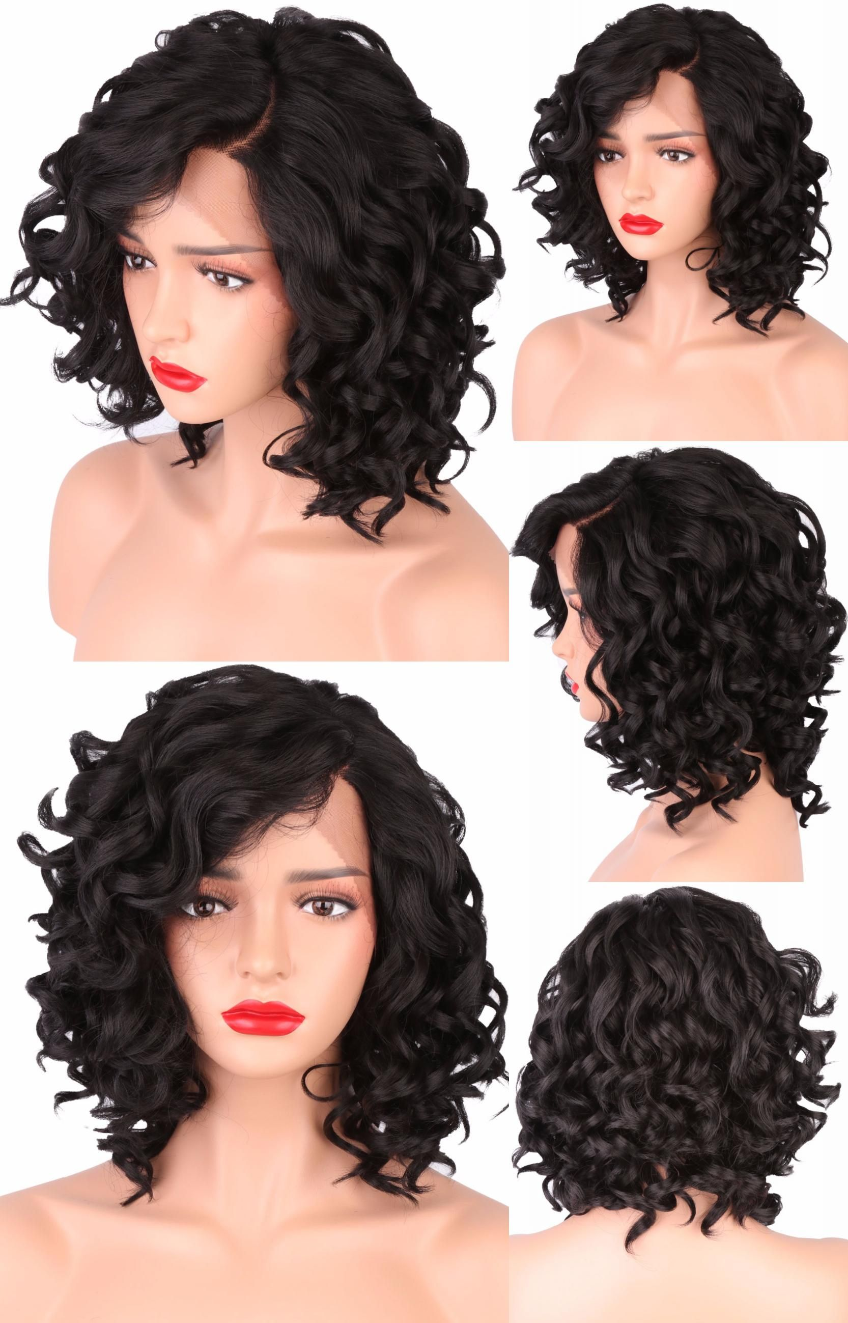 Visit to buy colodo short bob wigs for black women body wave