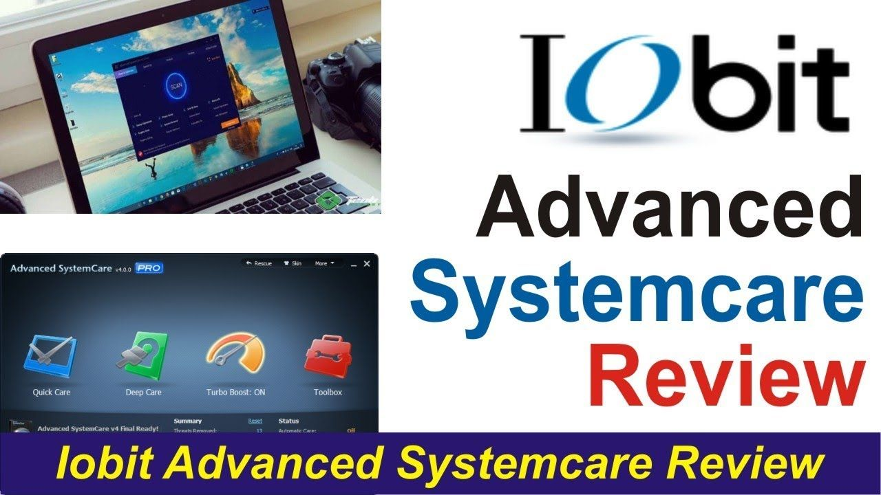 iobit advanced systemcare free review