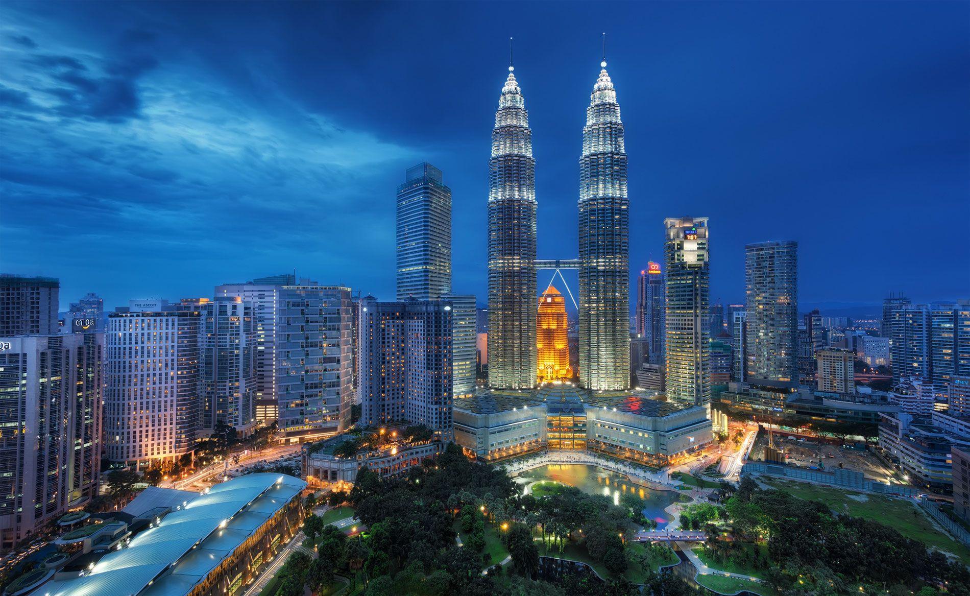 Mapa De Malasia Donde Está Queda País Encuentra Localización Situación Ubicación Capital Ciudad Turismo Que Ver Ir Va Skyline Malasia Kuala Lumpur