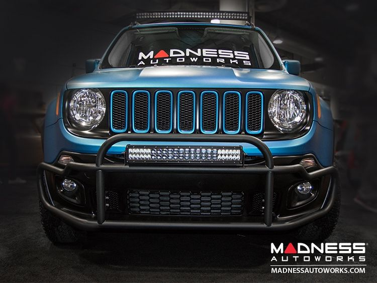 Jeep Renegade Front Bumper Bar by MADNESS - Non Trailhawk ...