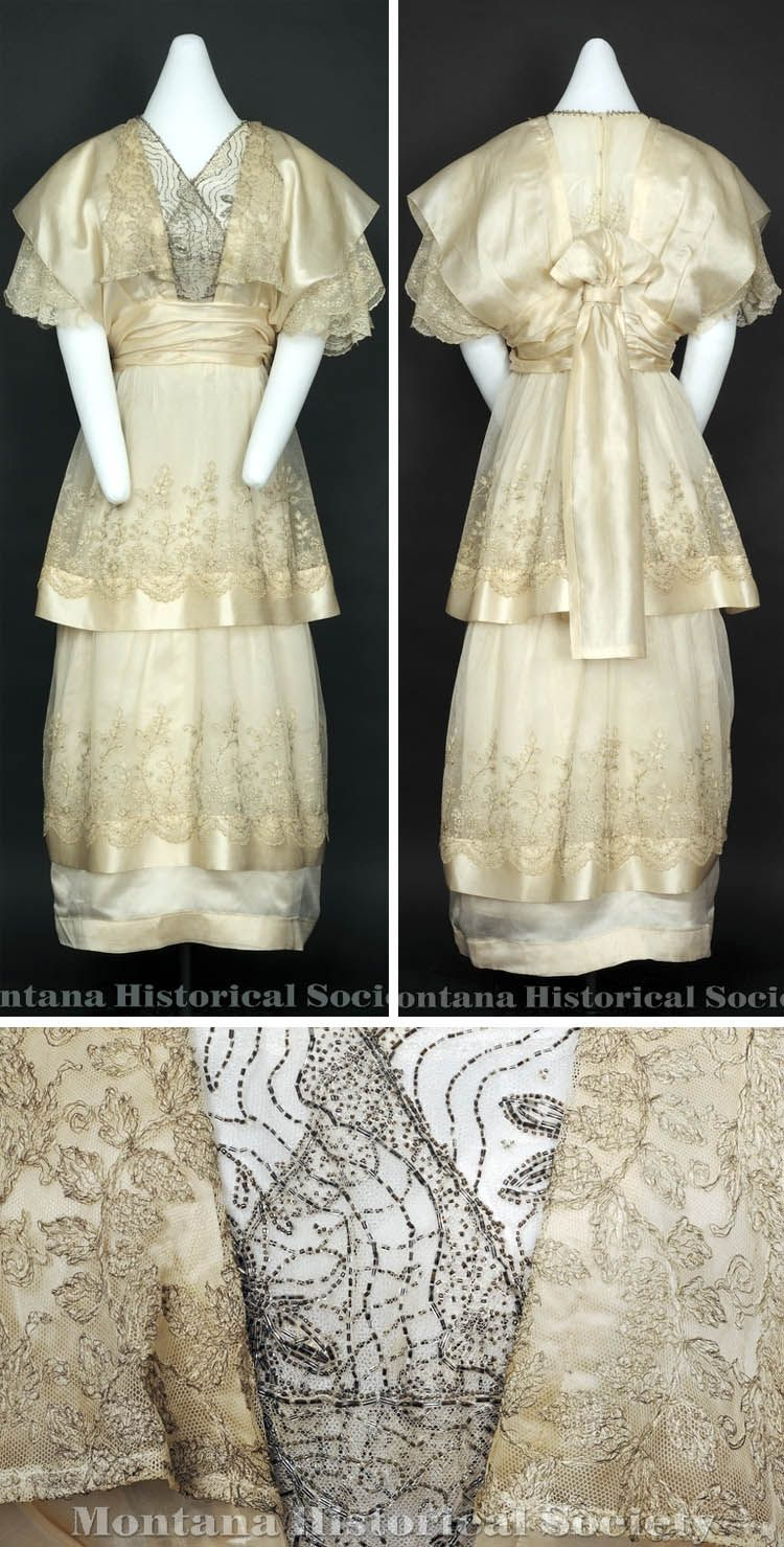 Wedding dress, 1915. Montana Historical Society Pinterest board