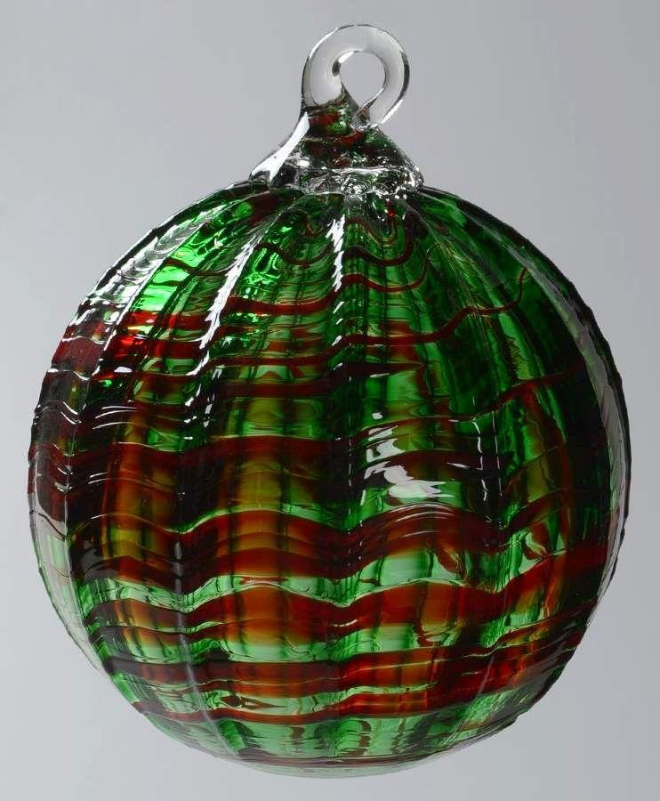 Classic Ball Ornaments Watermelon No Box By Glass Eye Studio Glass Eye Studio Ball Ornaments Ornaments