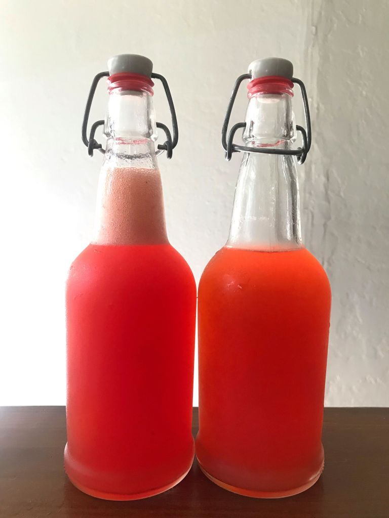 4 Ingredient Naturally Carbonated Strawberry Soda Zero Waste Chef Fermented Drink Fermentation Fermentation Recipes