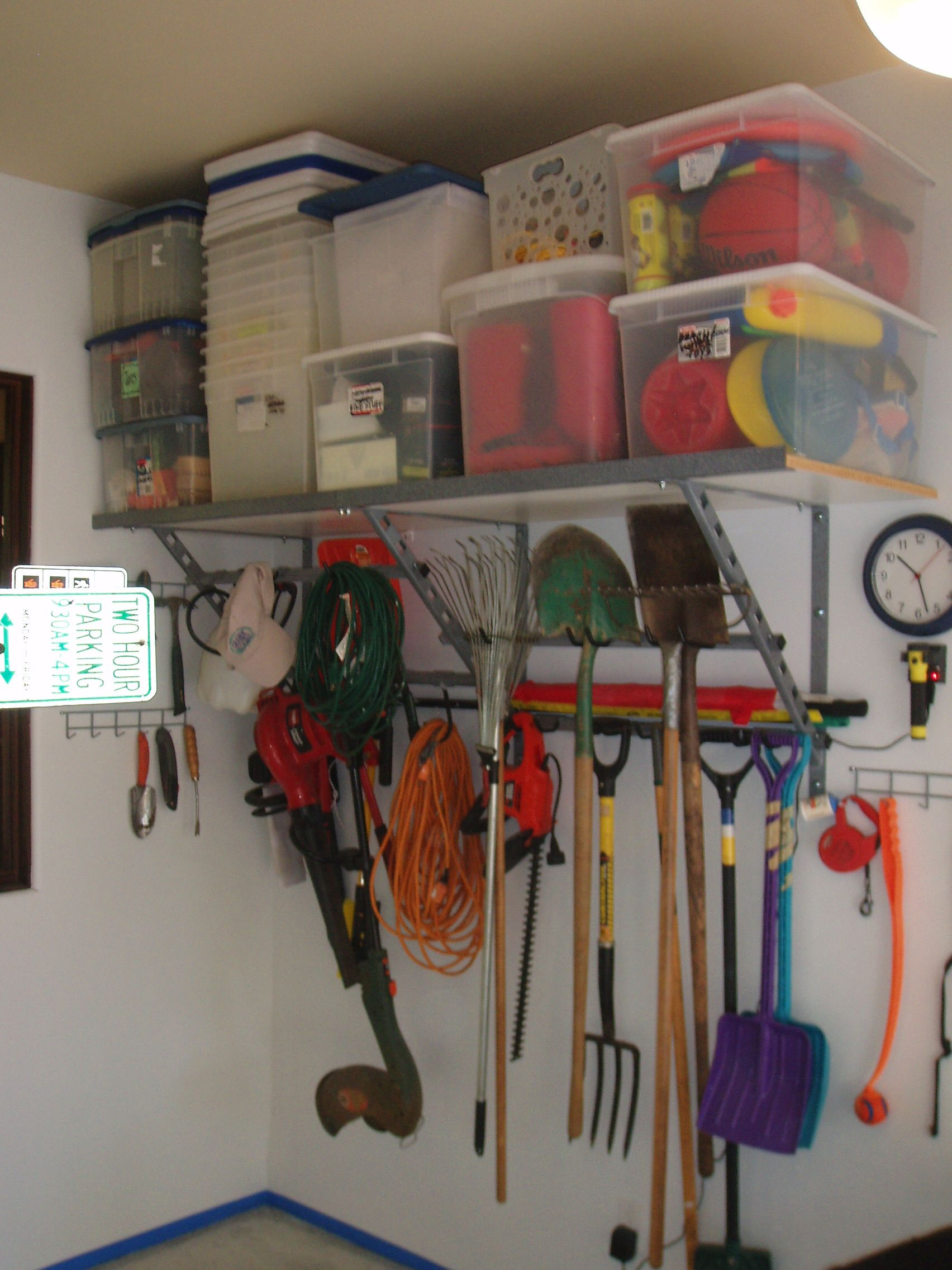 garage shelf shelves steel installment recommendation of discount buildings