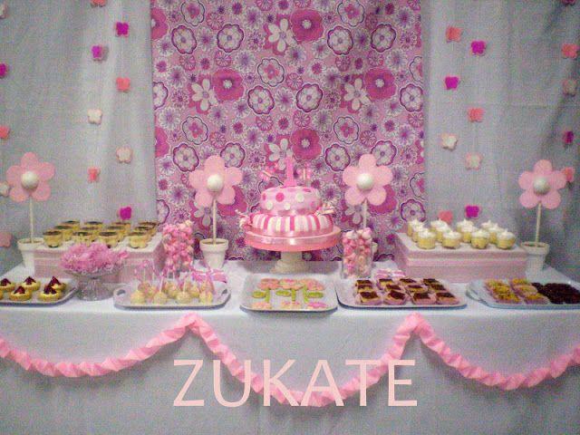 Zukate galeria de mesas dulces decoraciones de fiestas for Decoracion mesas dulces