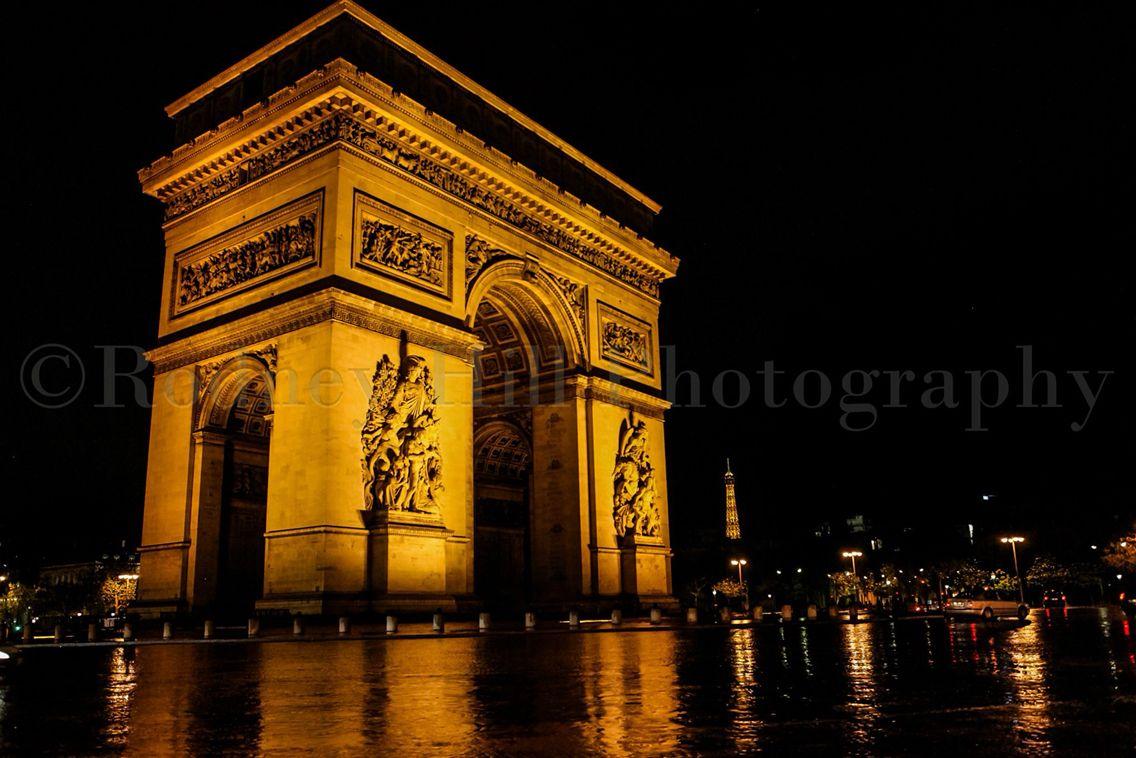 Arc de Triomphe. Paris France.