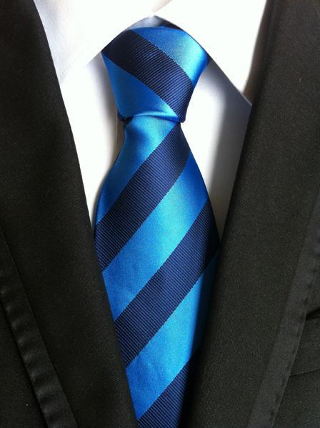 Fashion Men/'s Tie Skinny Classique Mariage Rayure Cravate Party Business Slim