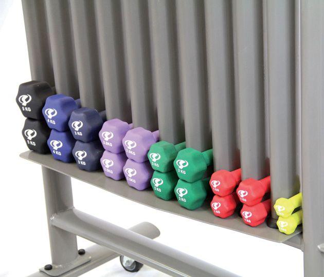 Solid Focus Neoprene Dumbbell Rack Weight Rack Dumbbell Rack Neoprene Dumbbells