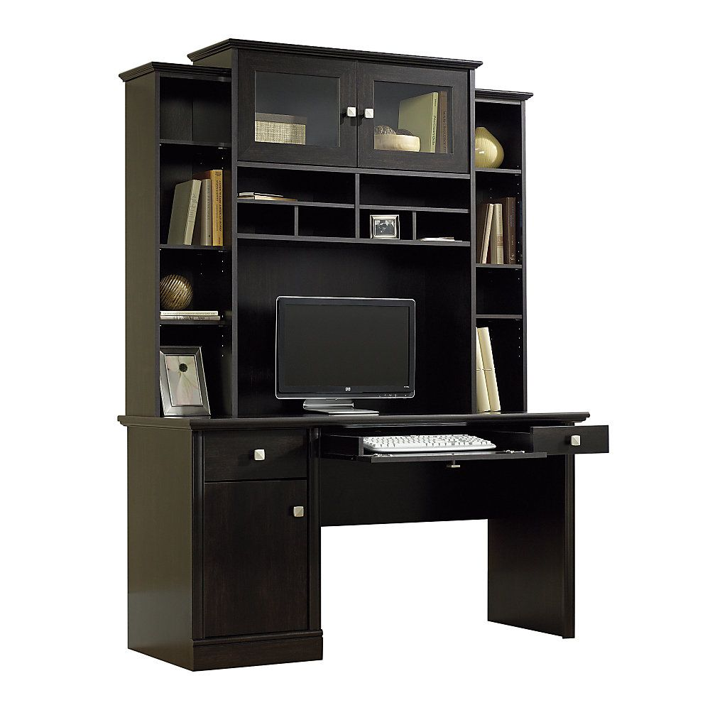 glamorous corner with black study home depot storage hutch drawers table empire office of shelves modern choose wooden computer small desk sale image workstation for fold executive