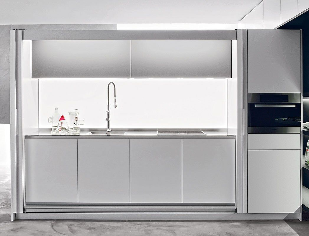 hideaway linear kitchen tival by dada design dante bonuccelli