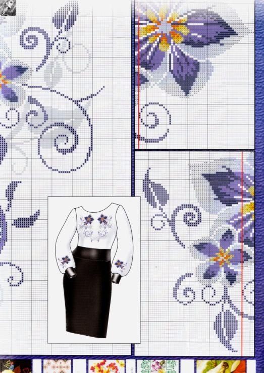 Gallery.ru / Фото #3 - Los patrones de bordado bordado de mini №185 ...