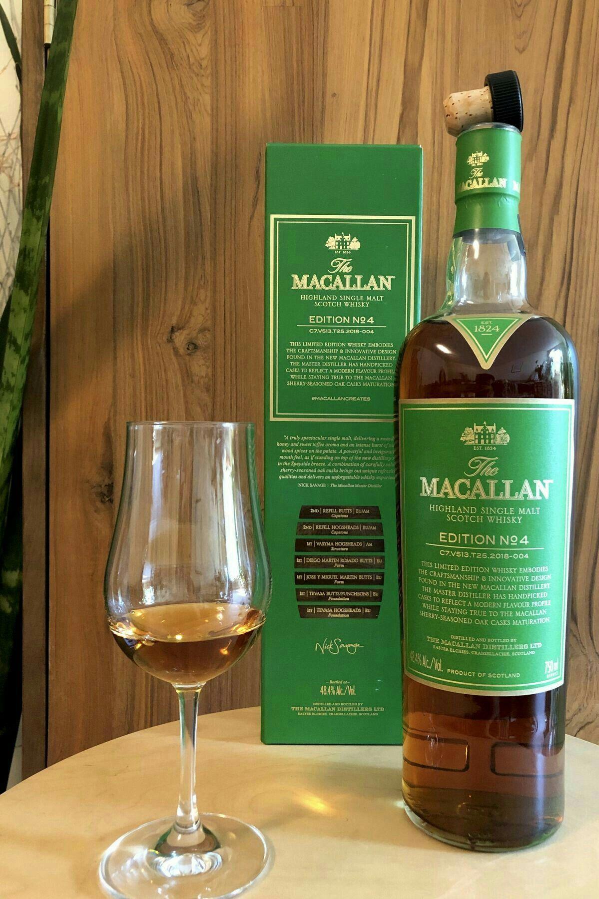Macallan Edition No 4 Whisky Liquori Cose