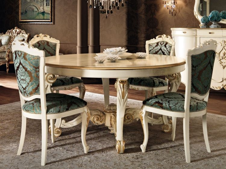 Esszimmer im Barock-Stil einrichten | Furniture | Barock möbel ...