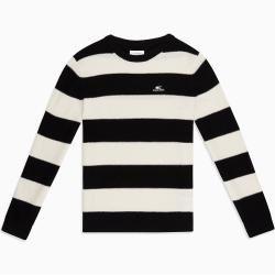 Photo of Calvin Klein Gestreifter Pullover aus Lammwolle S Calvin KleinCalvin Klein
