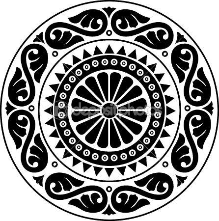 Resultados De La Busqueda De Imagenes De Google De Http Static3 Depositphotos Com 1002095 148 V 450 Dep 1485085 Vector Arabesque Desig Mandalas Patrones Arte