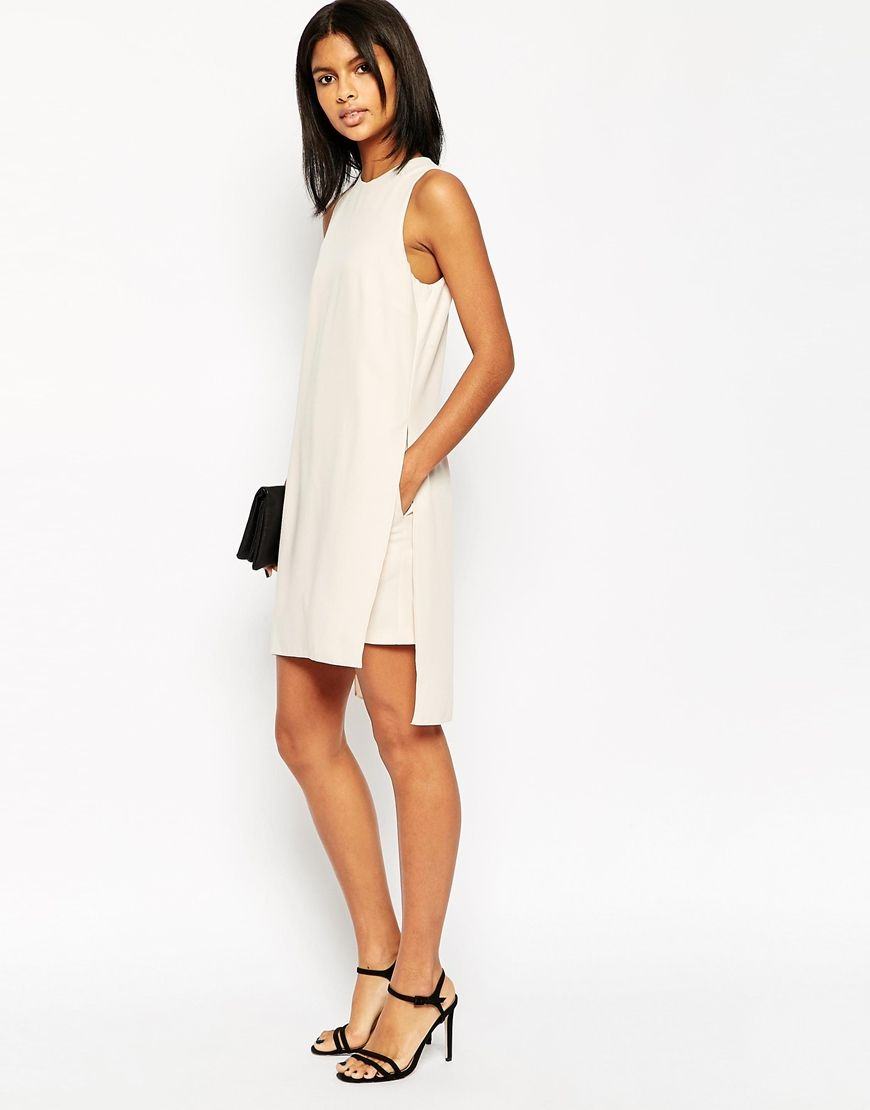 ASOS Minimal Romper with Overlay