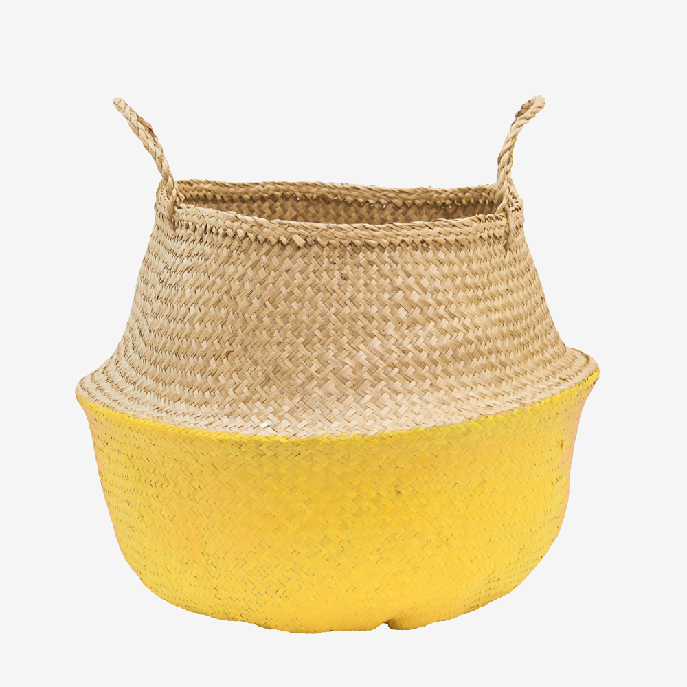 Our Natural Belly Basket is a favorite around here – handwoven, collapsible, stylish and functional - the perfect storage solution! Ethically-sourced and free- trade, our baskets are handmade by artis