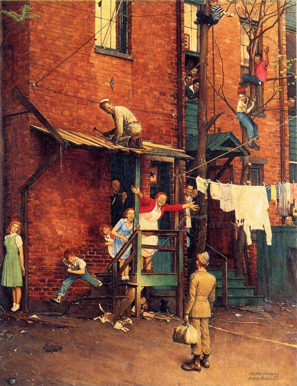 Ironic Illustrations Of Norman Rockwell Norman Rockwell Norman - Ironic illustrations