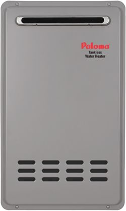 Paloma Commercial Tankless Hot Water Heater Outdoor Natural Gas Max 7 4 Gpm Dultmeier Sales Tankless Hot Water Heater Car Wash