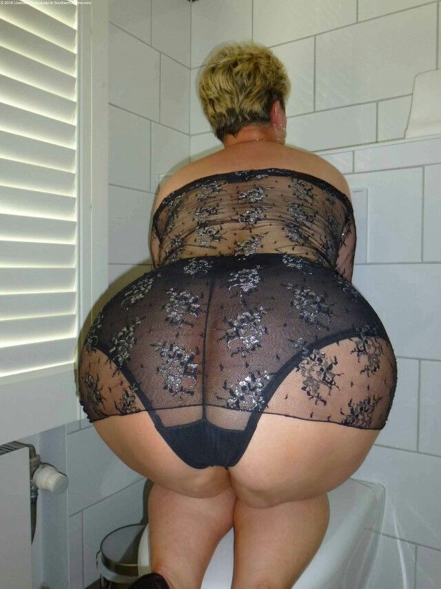 Wide ass mature