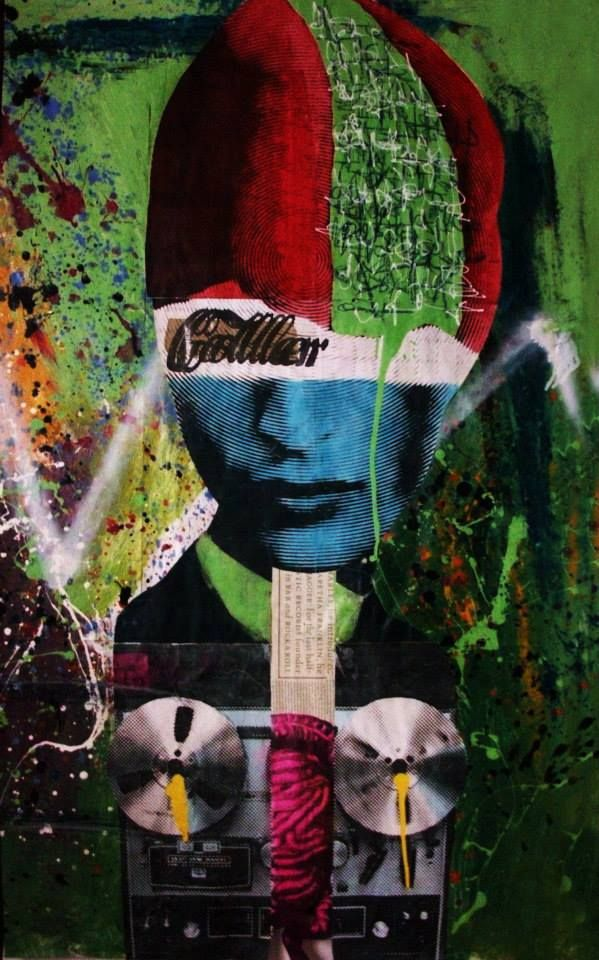 #mural #pasteup #weatpaste #santodomingo #collerart #coller #colage #republicadominicana