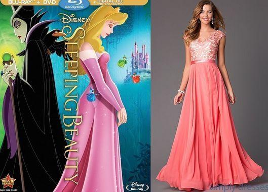 Disney princess dresses for prom