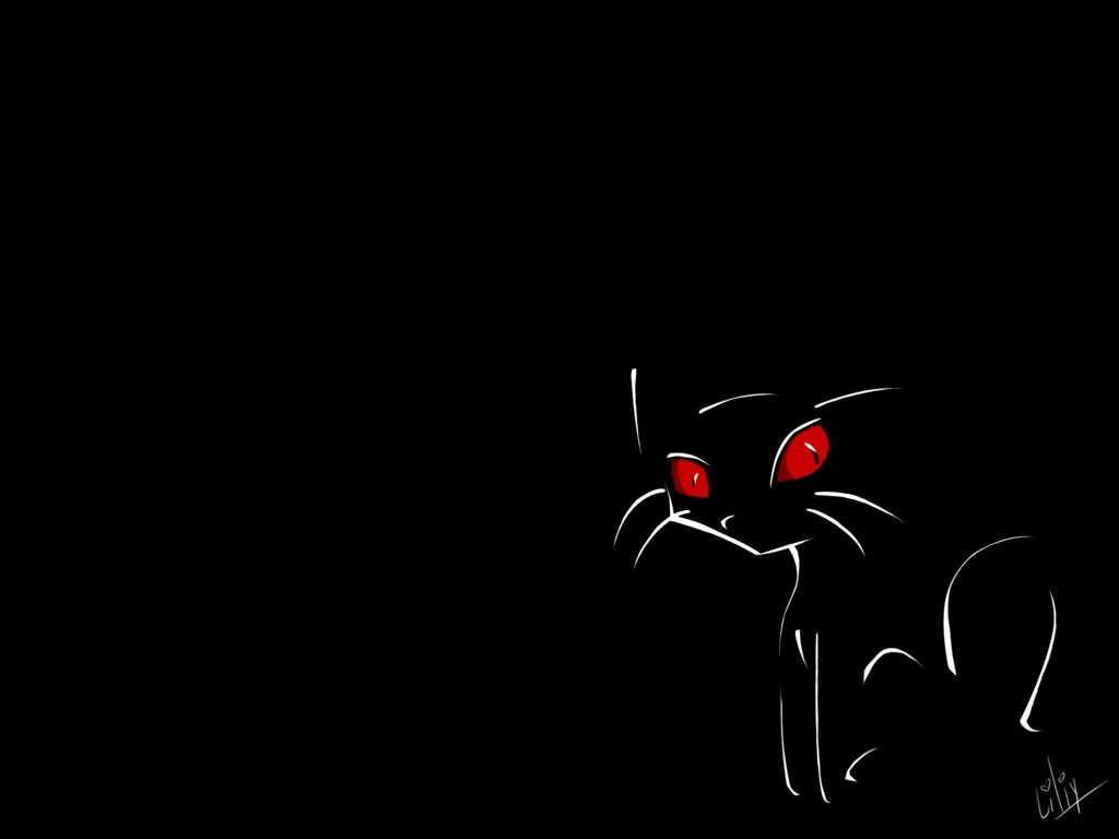 Shadow Cat With Red Eyes Cartoon In 2018 Pinterest Cats Cat