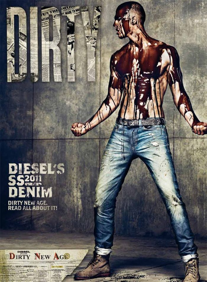 93b93a83 The Men's Things: DIESEL Presents the new powder & dirty denim collections