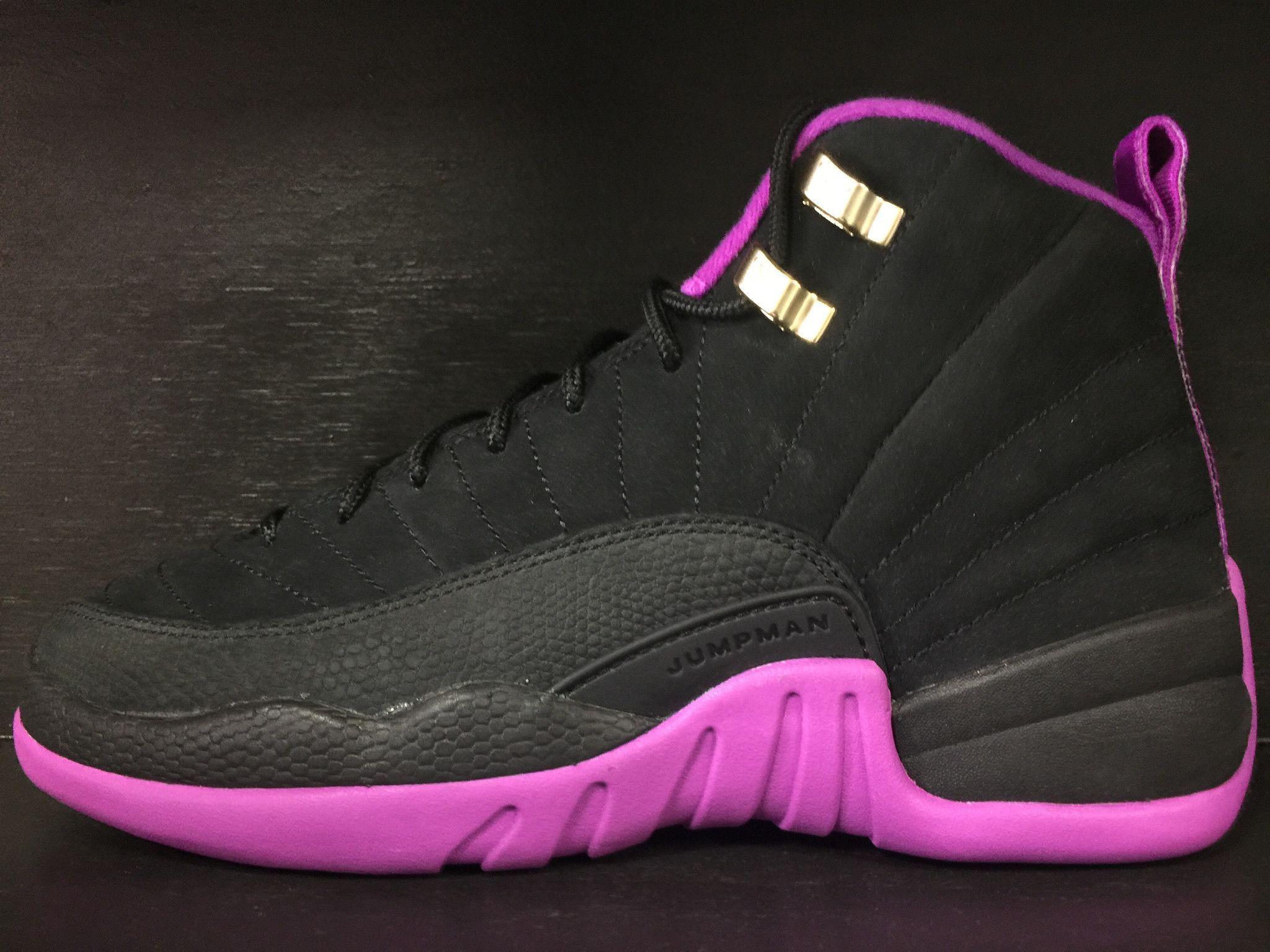 d464188bb95284 Air Jordan 12 Retro Hyper Violet GS