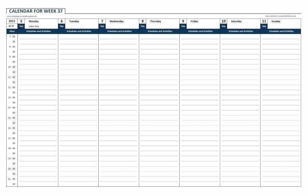 Excel Hourly Schedule Template Beautiful Hr Schedule Template Excel Hour Free Download Weekly Weekly Calendar Template Excel Calendar Template Excel Calendar