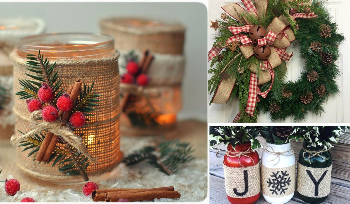 Compartir en facebook te gustan los adornos navide os r sticos si eres de los que ama una - Los adornos navidenos ...