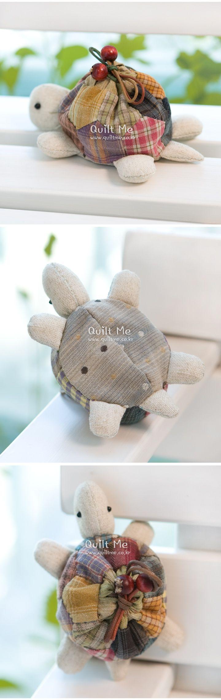 거북이 미니파우치&동전지갑 세트] | Sewing | Pinterest | Tortuga ...