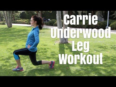 Carrie Underwood's Personal Trainer Shows Us Arm & Back Workout - YouTube #carrieunderwoodlegworkout