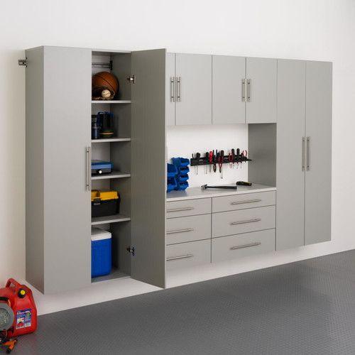 Prepac Hangups 6 H X 10 W X 1 33 D 6 Piece Storage Cabinet I Set Large Storage Cabinets Storage Cabinet Shelves Storage Cabinets